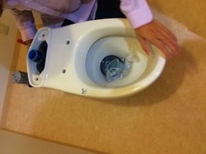 トイレの施工