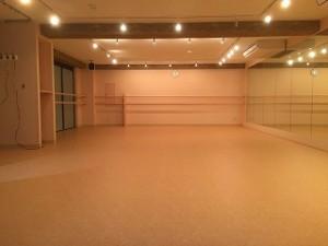 高円寺のダンススタジオ
