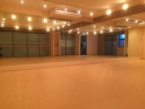 ダンススタジオの照明工事