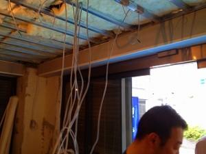 ダンススタジオの電気工事